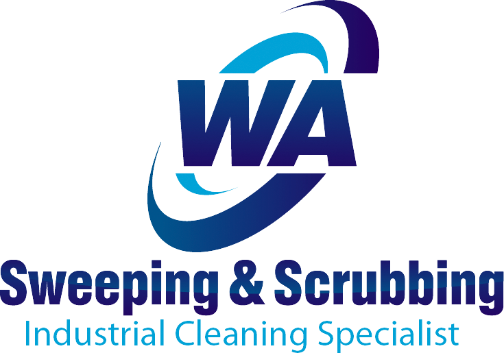 WA Sweeping & Scrubbing Mobile Logo