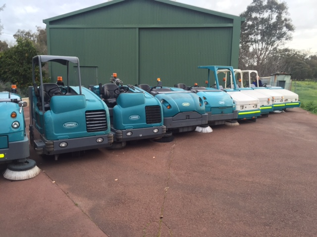 Fleet of Sweepers